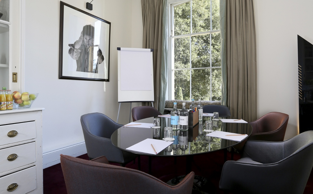 A meeting room at The Ickworth luxury family hotel in Suffolk