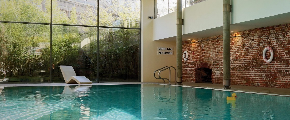 Indoor pool in Suffolk at The Ickworth Hotel