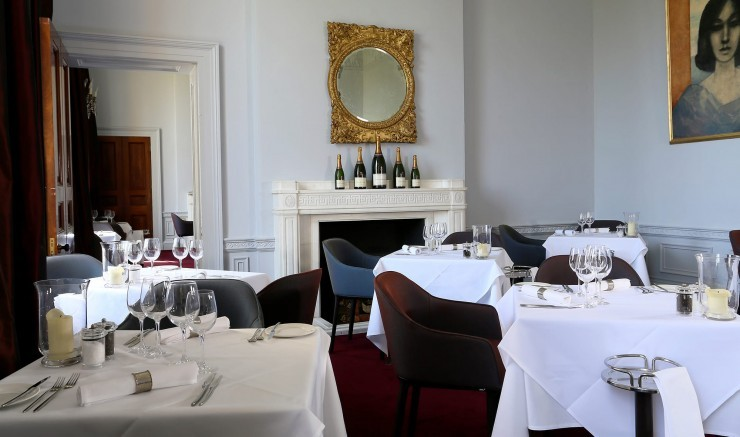 Suffolk restaurant Fredrick's at The Ickworth