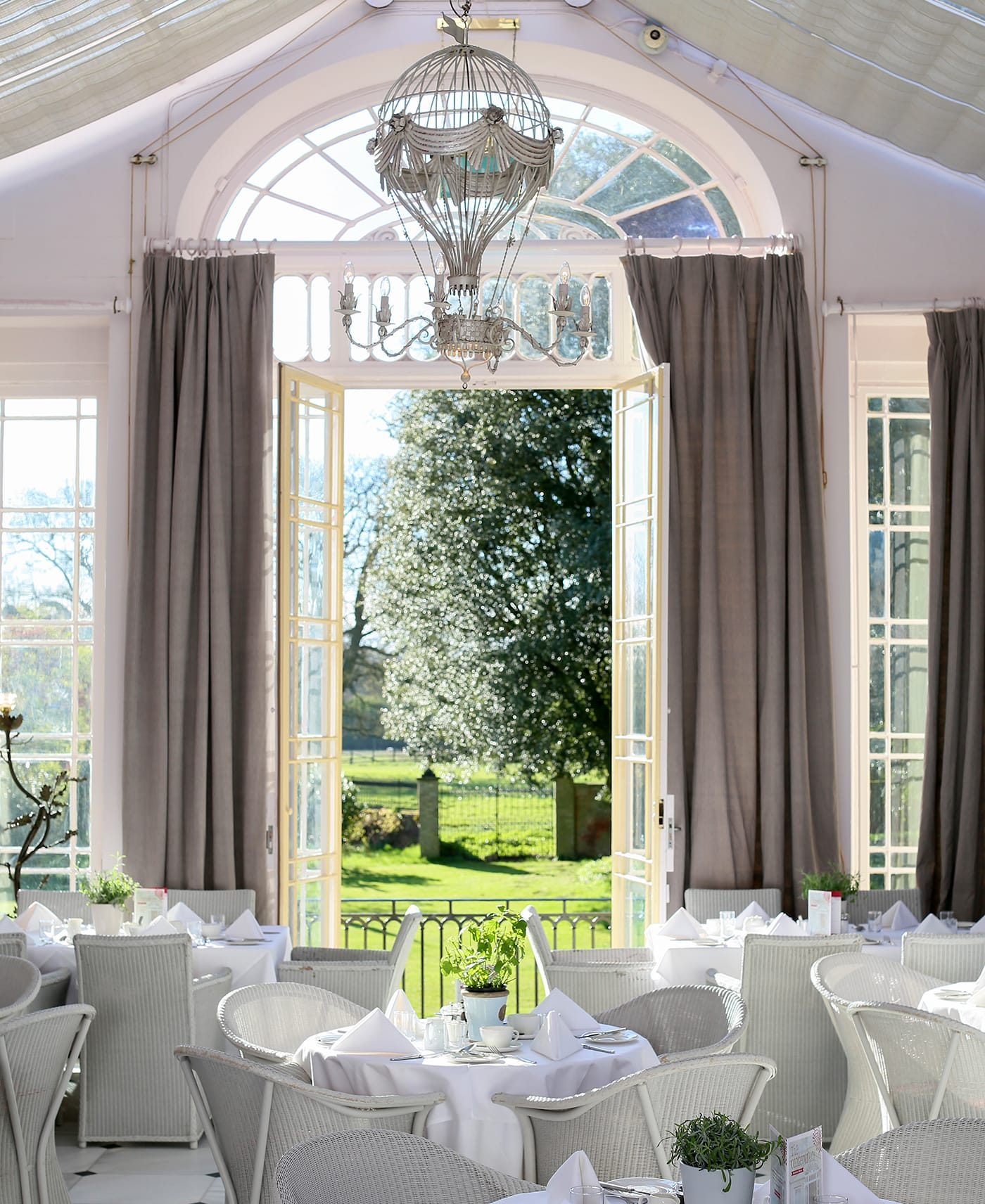 Restaurant at The Ickworth in Suffolk