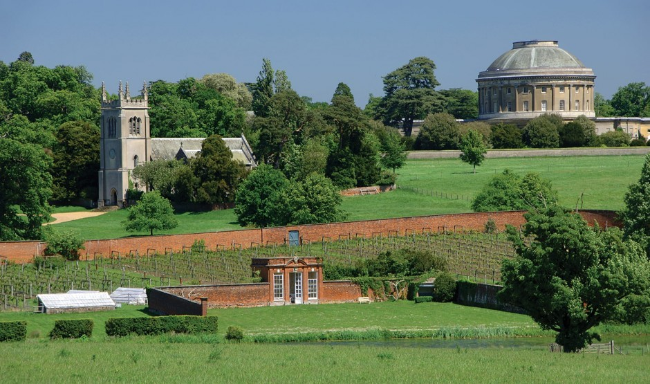 View of The Ickworth in the Suffolk countryside