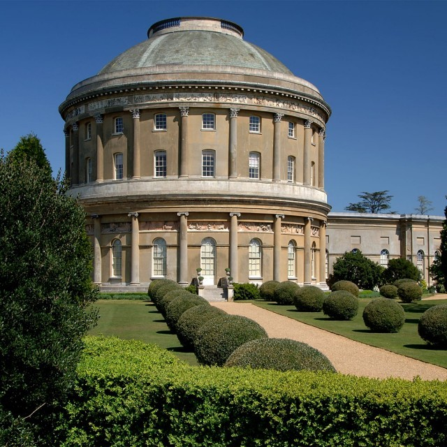 The Rotunda at Ickworth House in Bury St Edmunds