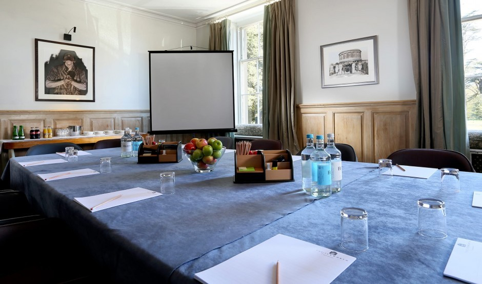 The Boardroom at The Ickworth, a hotel and conference venue in Suffolk