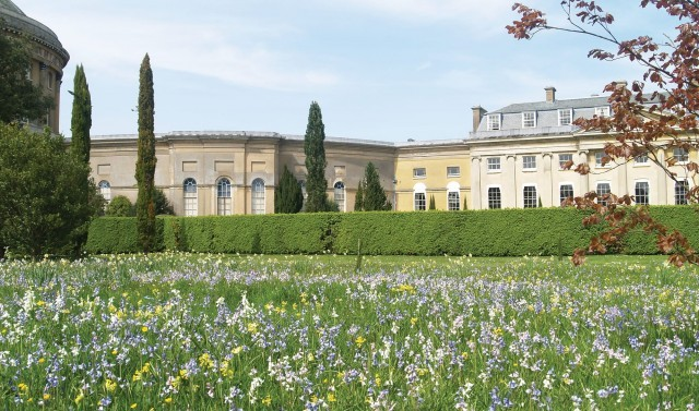 Spring at Suffolk hotel The Ickworth