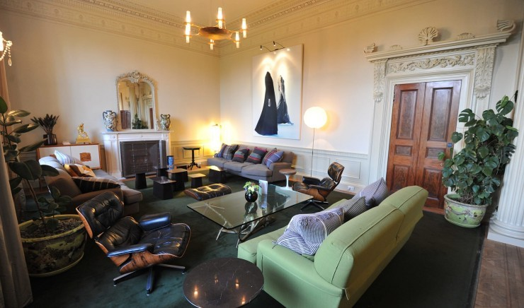 Family-friendly lounge at Suffolk hotel The Ickworth