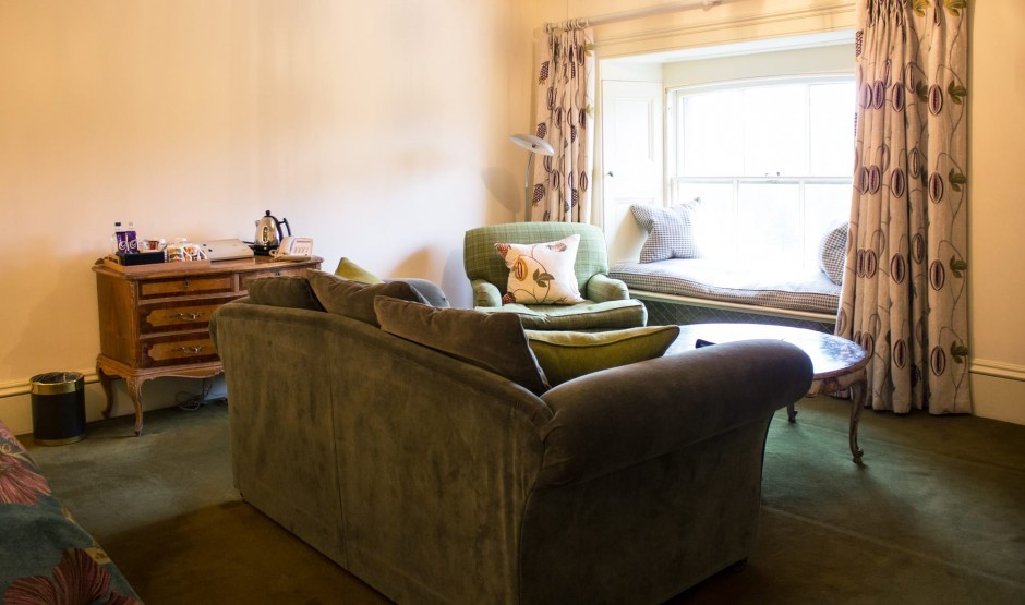 Family relaxation area at The Ickworth Hotel