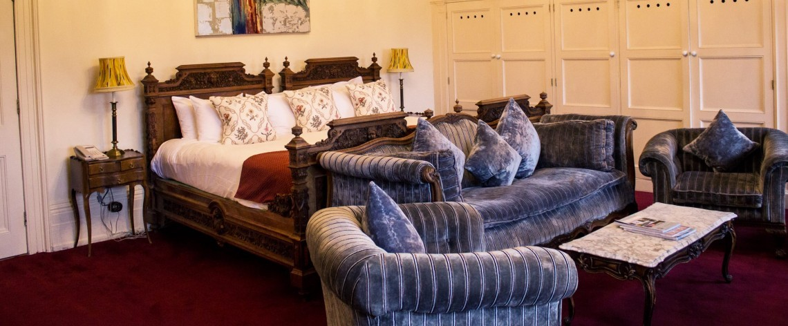 Grand Tour family hotel suite in Suffolk
