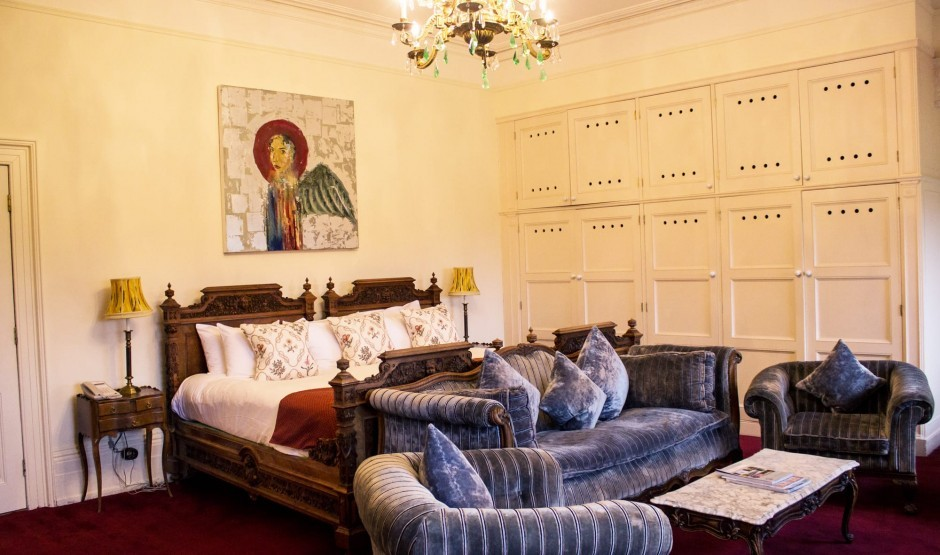Family suite at Suffolk country house hotel The Ickworth