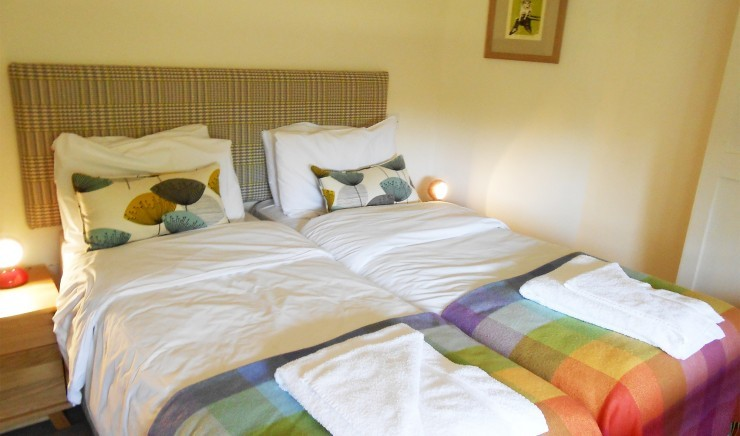 Two-bedroom hotel suite at The Ickworth