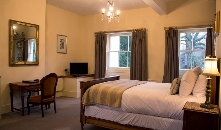 Double bedroom in a two-bedroom apartment at The Lodge in Suffolk