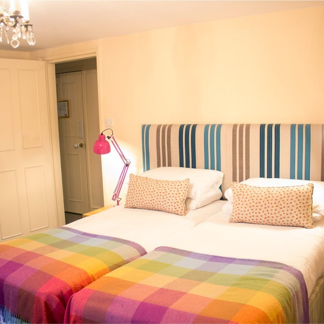 Children's bedroom in a child-friendly suite at The Lodge at Ickworth