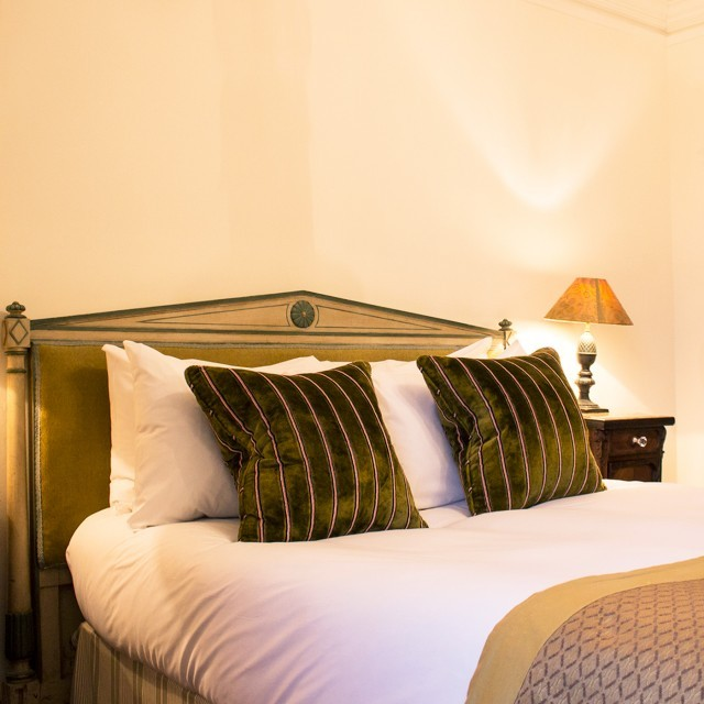 Bedroom at The Ickworth Hotel in Suffolk